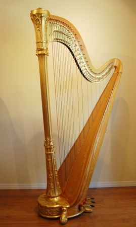 Used Pedal Harps